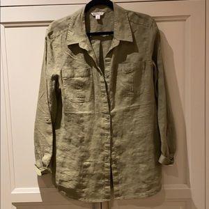 Spanner linen button down shirt.